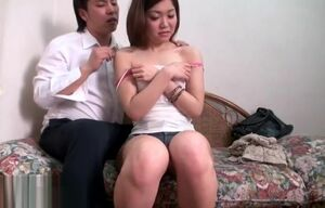 Asian honey has lovemaking during..