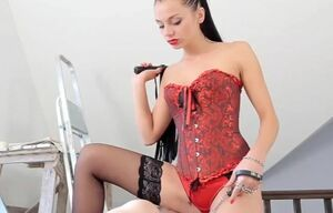 Strapon, russian domme anita, femdom,..