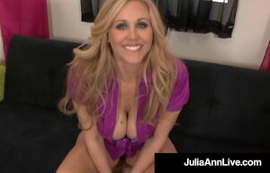 Molten Mega Mummy Julia Ann  Cum After..