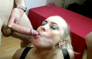 Steamy British Milf in Leather and..