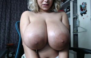 Immense Areola Ample Hooters Orbs..
