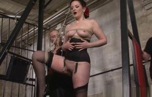 Sub Caroline Pierce flogging and..