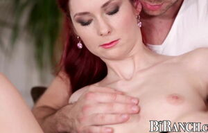 Stunning bisexuals plow each other and..