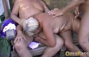 Solo immense thick grandmother and..