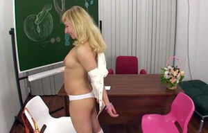 Student With Hard-on In Rump