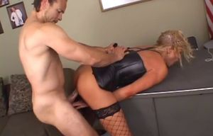 Sabrina enjoy gets plowed by a dangled..