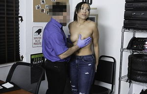ShopLyfter - Hefty Black Little girl..