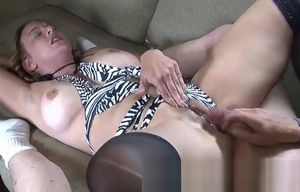 Stunner breasty expert gal acting in a..