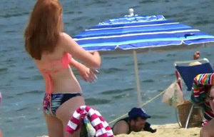 Ginger Bathing suit Not Little girl..