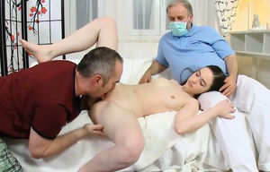Beau assists with hymen corporal and..