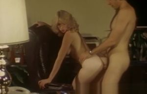 Retro Porno With a Platinum-blonde..