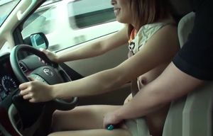Jav Inexperienced Shirai Bare Driving..