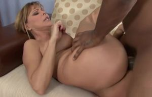 Ash-blonde huge-chested mummy getting..