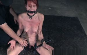 Red-haired enslaved penalized and..