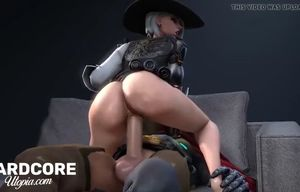 Overwatch ashe getting xxx culo activity