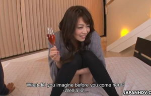 Asian woman, Maki Hojo had a..