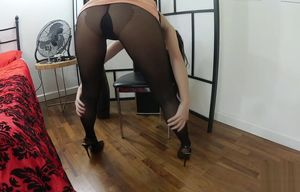 Couple Stocking Tights Clamp Sophia..
