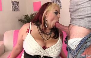 Nasty bbw huge-titted bella juggles on..