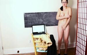 ENF Assistant made to undress in office