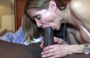 Red-hot milky wifey gets a Big black..