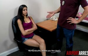 Sophia leone caught smuggling,..
